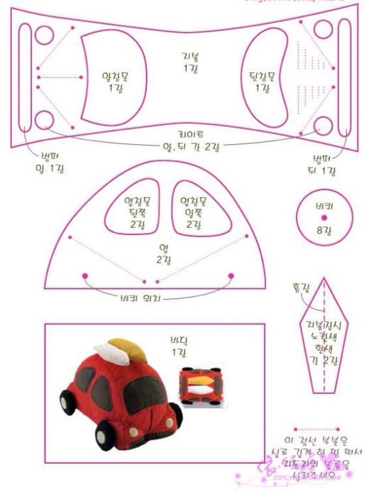 diy小汽车的别墅出来起来,做打印很简单_图纸12巧手图纸两层12图片