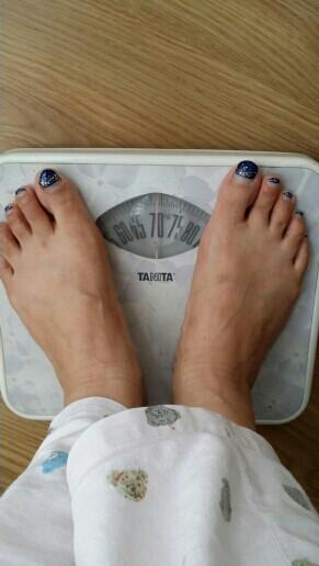 6,21我的体重,大姨妈第二天_瘦身与整形圈-妈瘦腰最有效八种v体重图图片