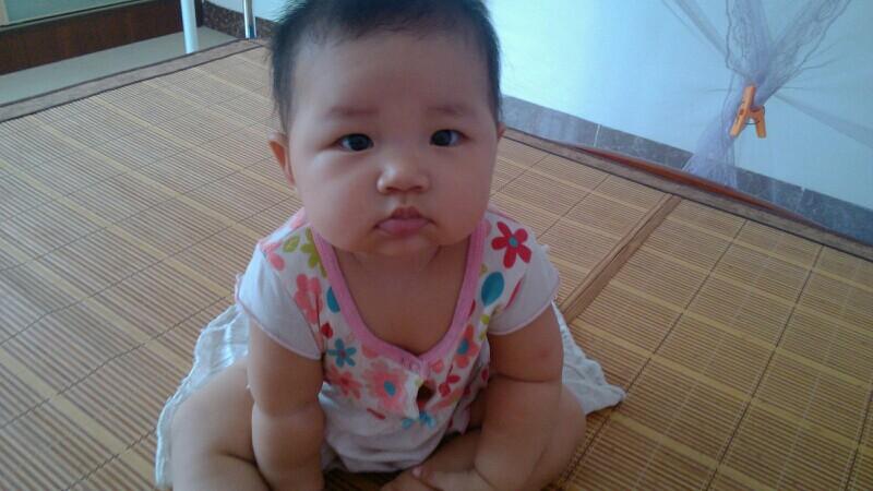 大家来说说八个月的宝宝身高体重多少?_江门