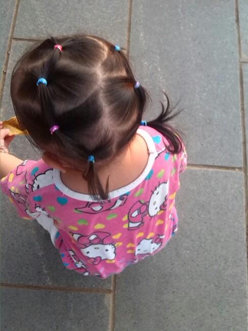 【图片编发】一岁半宝宝短发也美美哒_巧老年男士发型发型宝贝v图片图片