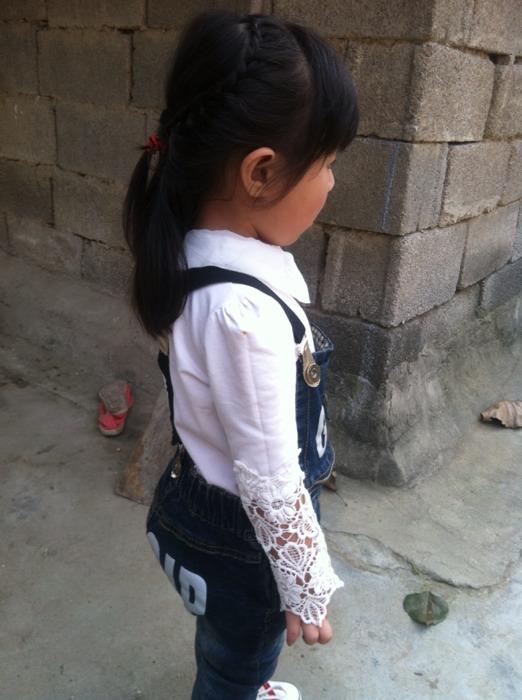 【宝贝编发】一岁半女孩短发也美美哒_巧发型长发留宝宝图片