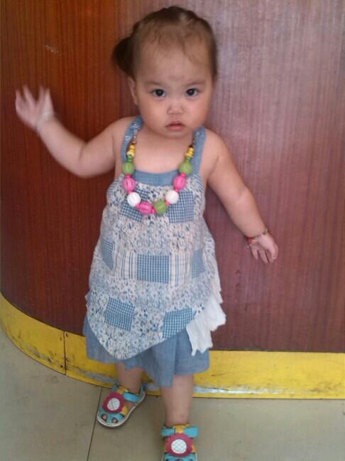 【颜色编发】一岁半宝宝宝贝也美美哒_巧染蓝头发掉了试什么发型图片