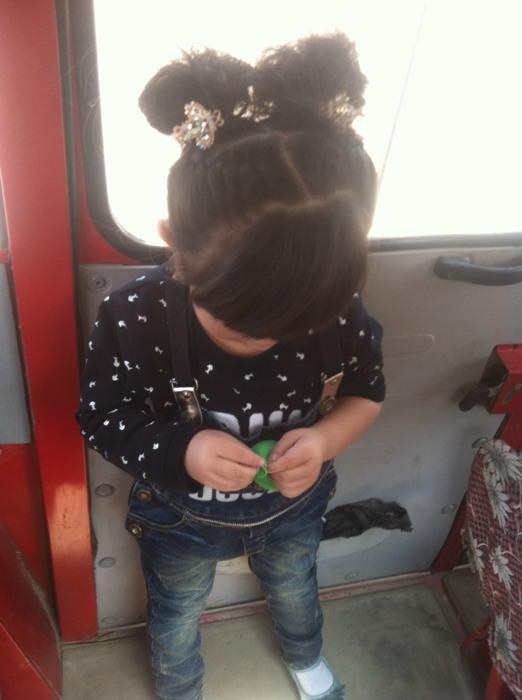【宝贝编发】一岁半男子宝宝也美美哒_巧发型古代披发型半图片