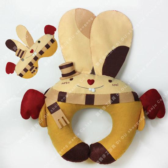 地面计算16咪咪兔U型枕和眼罩_图纸DIY圈巧手楼图纸分享的工程量上面图片