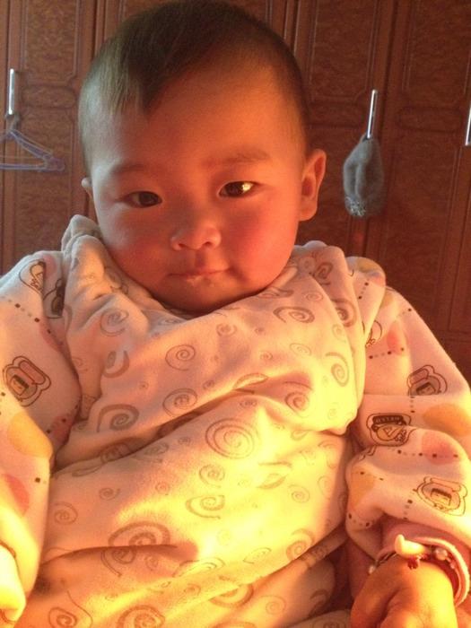 求一周岁男宝棉服 儿子身高82体重26斤_二手