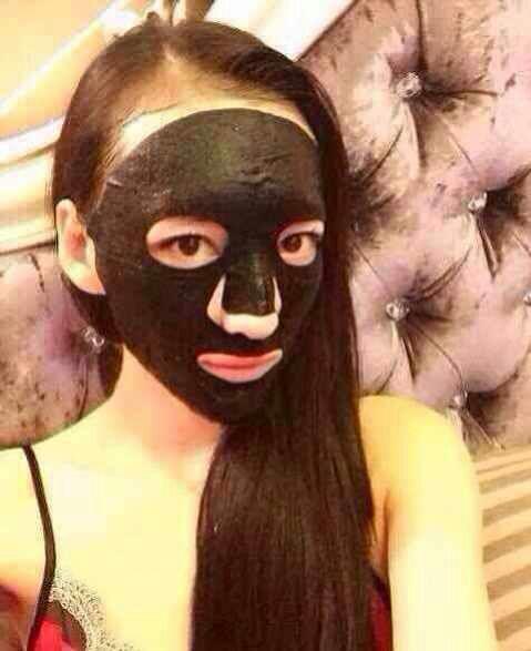 【波皮鞋鱼籽面膜】BOBI黑脸娃鱼籽面膜紧肤女浅口真碧水平跟图片