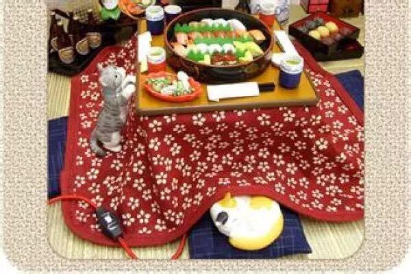 带被子的茶几~日本人冬天取暖的神器_生活在