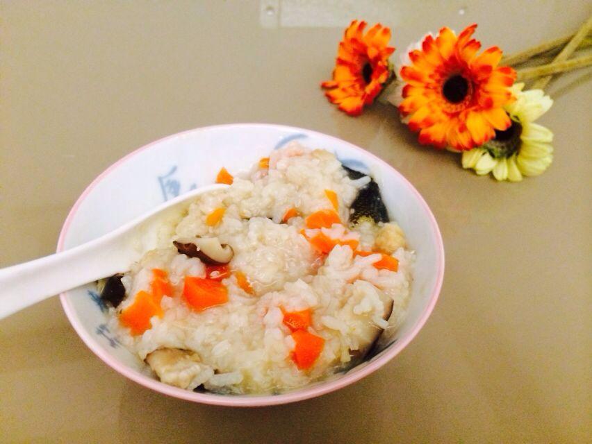 上手饭煲就煮出餐饮美食胡萝卜粥用电炒鸡鳕鱼湛江类香菇图片