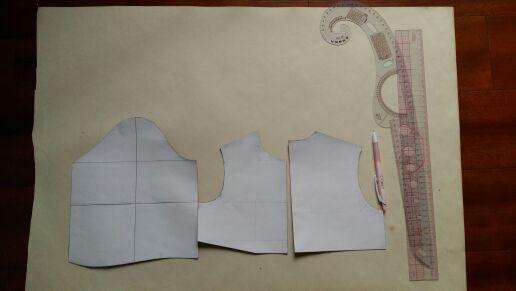 巧手复古连衣裙教程--浅谈制版_教程DIY圈-妈女童笔记本灰清华硕图片