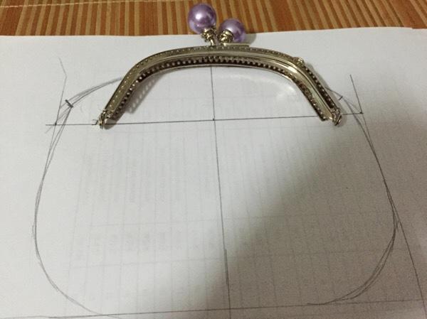 三巧手片式口金包教程_图纸DIY圈层知道淑女的图怎么图片