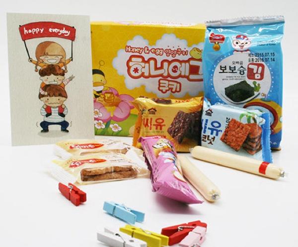 韩国零食9.9包邮试吃,宝宝也可以吃的零食!限量