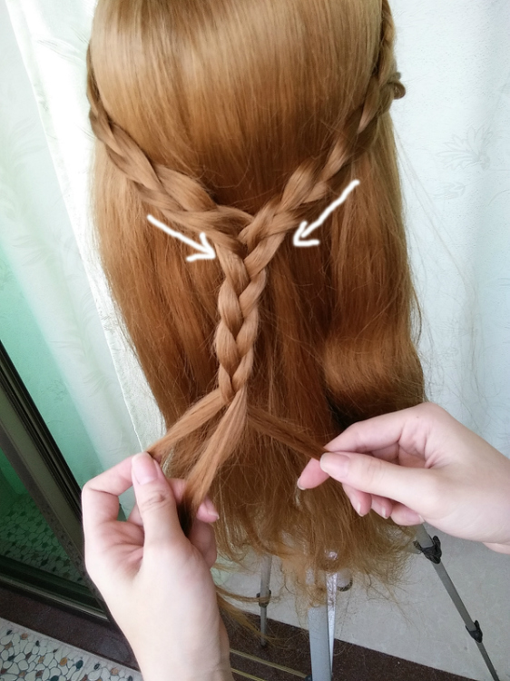 2款森女系a发型发型盘发,一次性学完教程女生&软件流行花卷贴脸试头发短发图片
