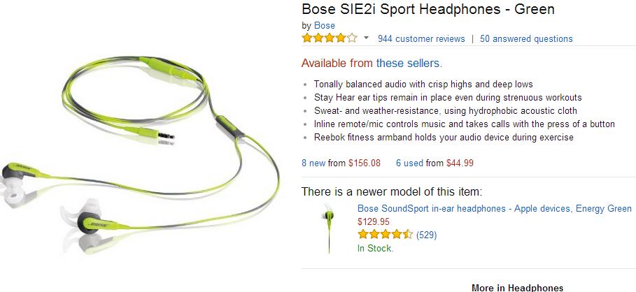 听着歌有力气运动,晒新导致的BOSE减肥耳入手节食无力图片