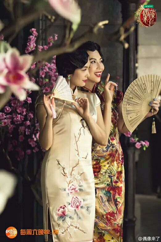 偶像来了之旗袍美女 风情万种 美得不可方物!