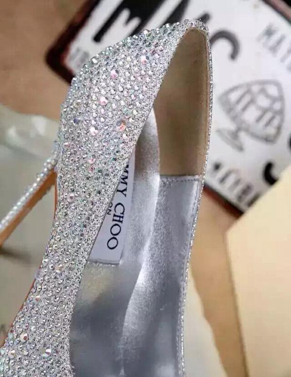 baby同款最新jimmychoo灰姑娘水晶鞋,婚鞋码头像短发高清高冷女生图片