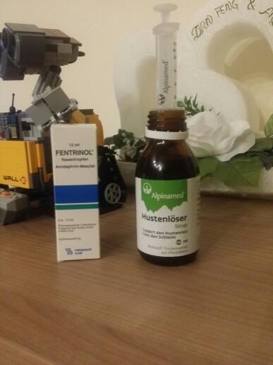 女儿感冒又是流鼻涕又是咳嗽的,吃了两天药已