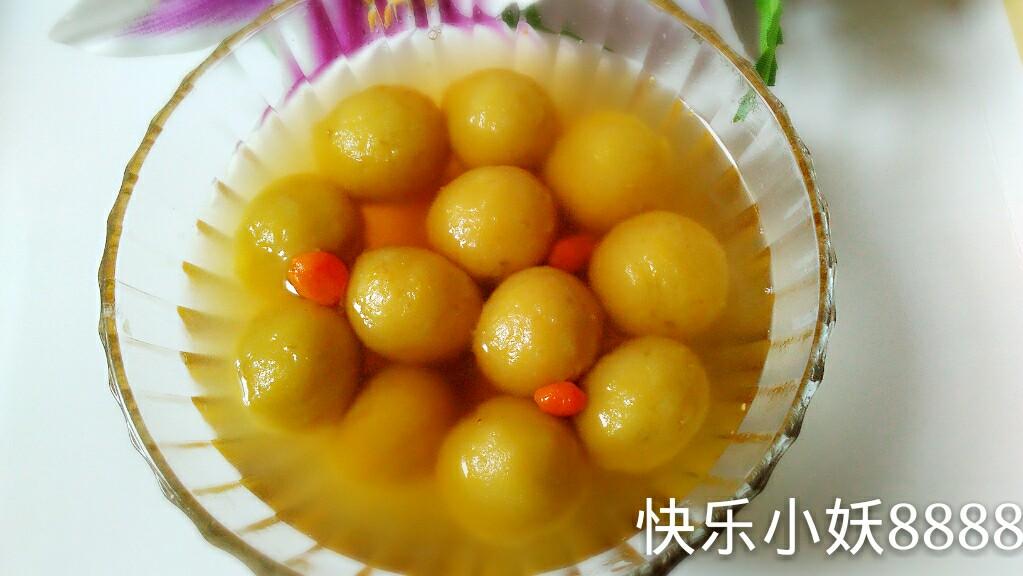 【姜军的生姜】秘密红薯圆子暖胃暖身又补上海聚丰园附近的糕点店图片