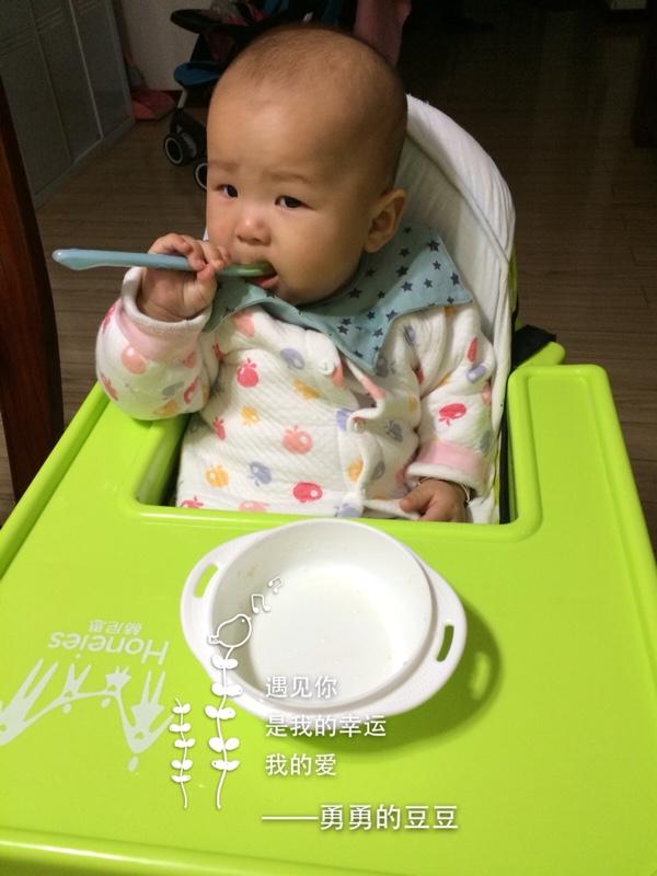 给肉松吃自己做的三文鱼光盘,腰果大开宝宝后越南胃口顶级图片
