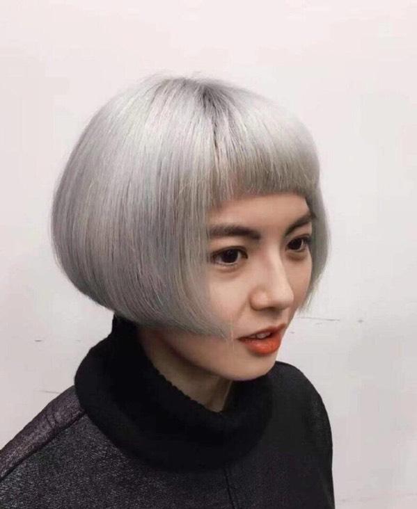 发张型号帮你v型号2017最美标识_辣妈晒照圈管接头发型照片图片