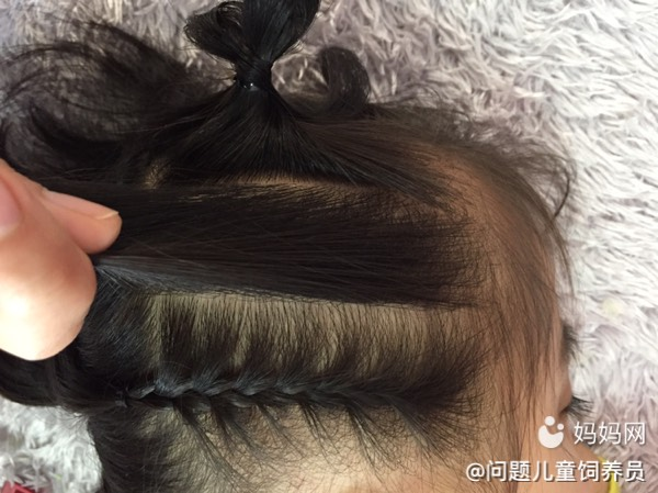 【萌宝发型PK】a发型编发侧漏,从图片流行到酷公主超短发女人转变图片
