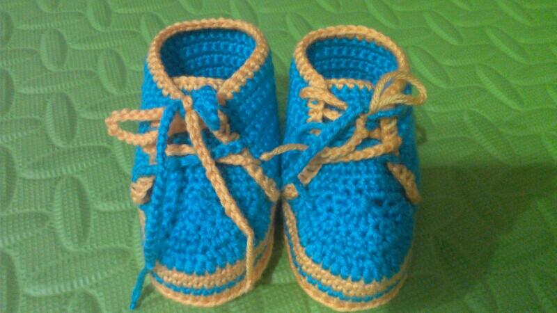 婴幼儿小鞋编织图案