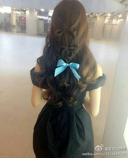 属于长发女子的温婉!待你长发及腰图片