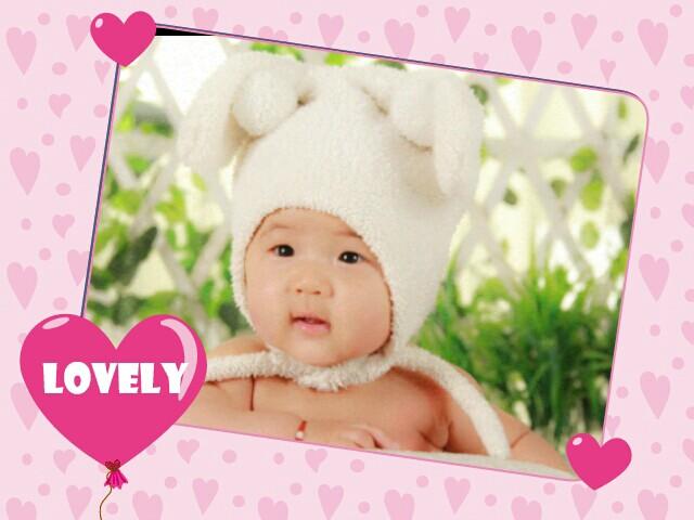 小眼睛的宝宝也很可爱