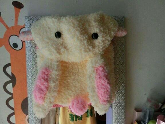 绒绒线外套编织图片动物