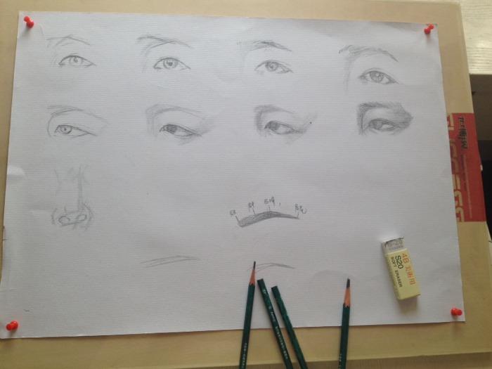 今日更新眉毛的画法,手把手教你学画眉!