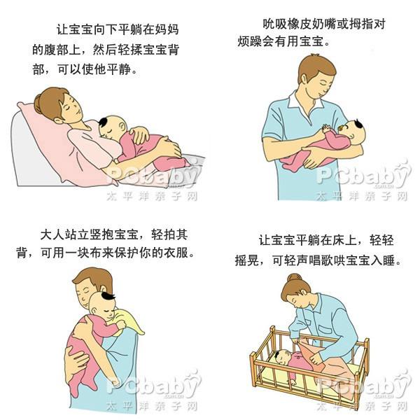 婴儿哭手绘图
