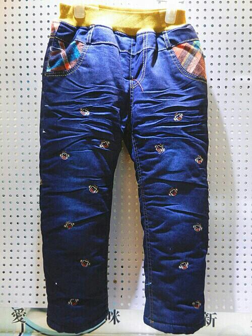 1到5岁男宝宝超酷牛仔裤