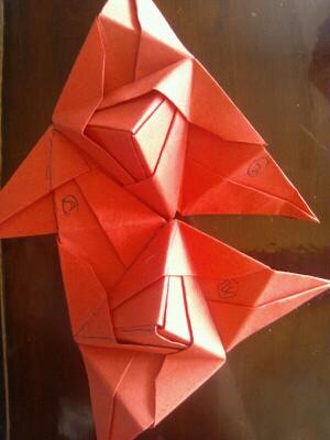 来自星星的风铃 纸折风铃教程来啦