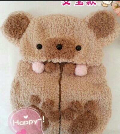 定做手工编织漂亮各种动物小衣服!