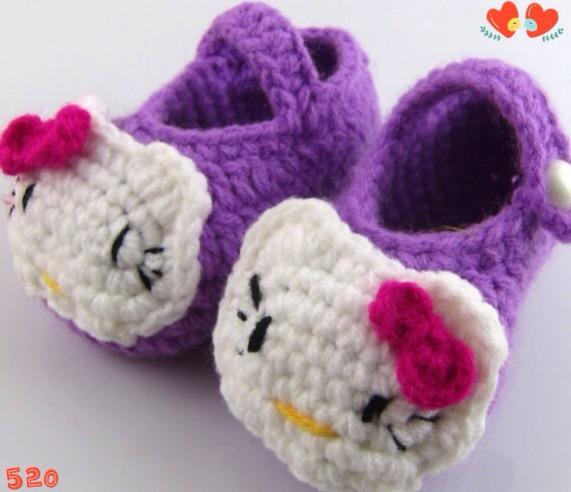 超萌针织宝宝鞋