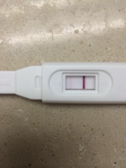 验孕棒c区非常浅请问是怀孕了吗