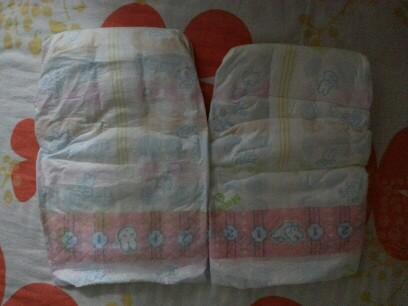 店里买的花王纸尿裤,同样是s号