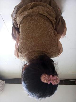 美妈们你们都是怎么了给宝贝扎头发的教教我_幼儿园圈