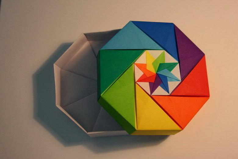折纸礼品盒_手工折纸礼品盒