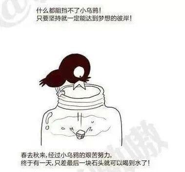 新乌鸦喝水,这尼玛,害我笑了一下午