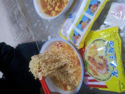 小时候吃的龙丰三鲜伊面