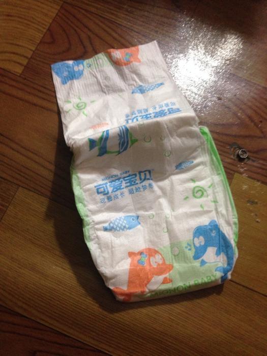 简装可爱宝贝纸尿片到货了