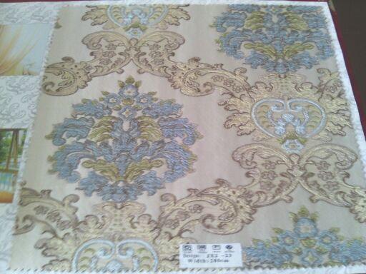 刺绣无缝墙布