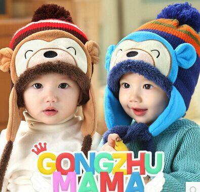 超萌可爱的男女宝宝帽子