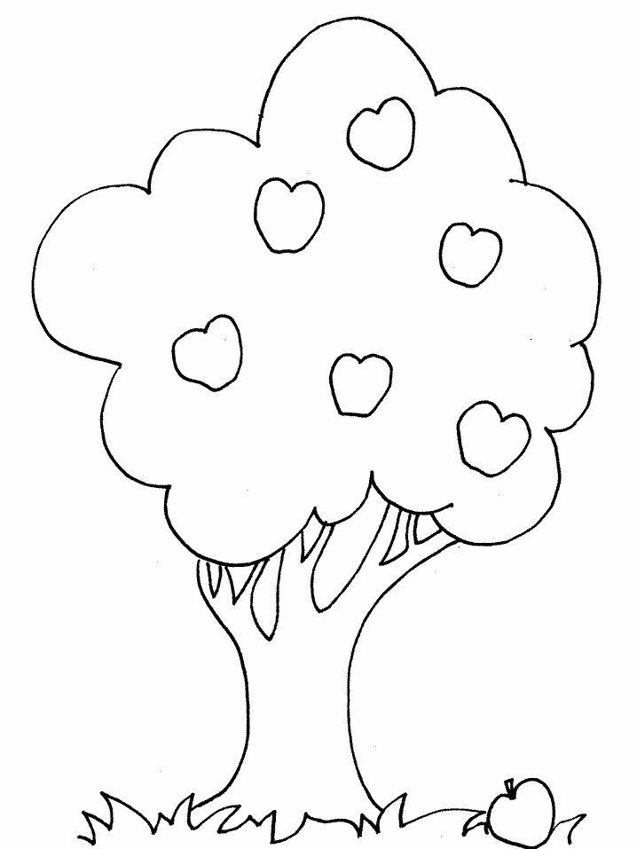 幼儿园涂色简笔画图片_儿童填色画大全可打印