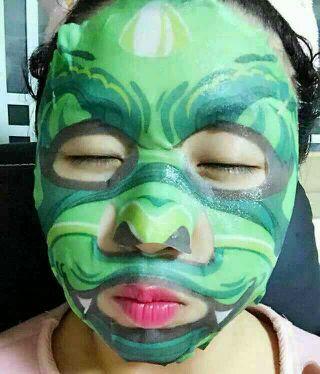 韩国动物脸谱面膜