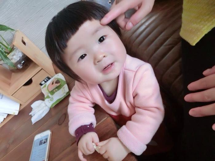 女儿快一岁了_0-1岁宝宝圈