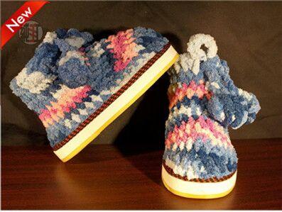 编织棉鞋拖鞋