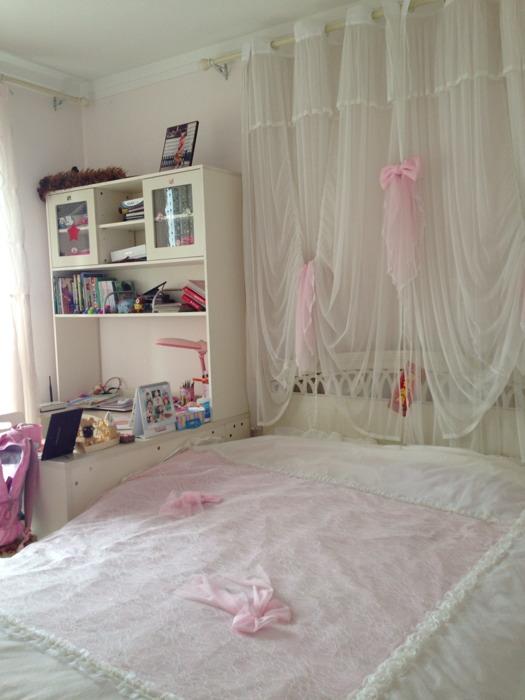 姐妹豪华上下铺公主房间装修