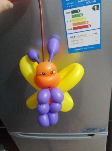 260小太子魔术气球制作的小蜜蜂好