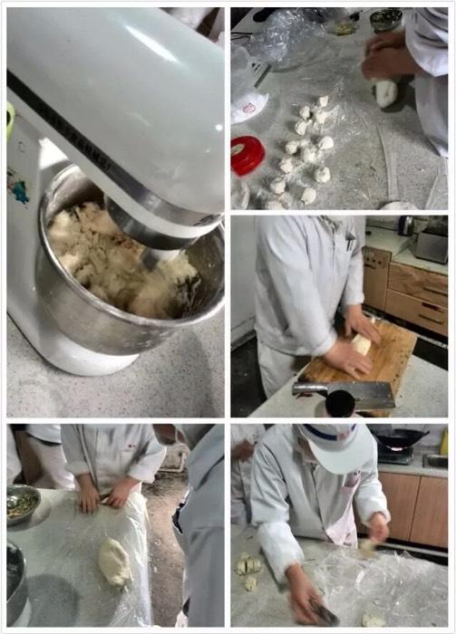 包饺子的过程